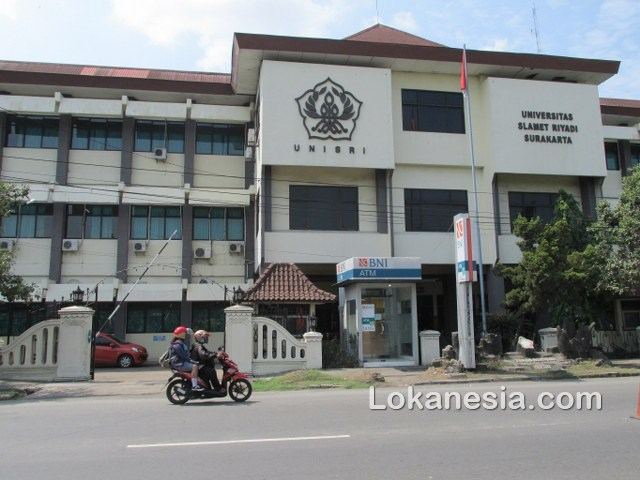 UNISRI Universitas Slamet Riyadi Surakarta, ATM BNI  Jl. S P 18 Joglo Kadipiro